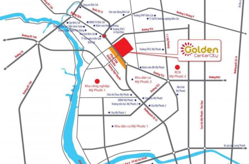Dự Án Golden Center City Bến Cát Công Bố Bảng Giá Mới Nhất